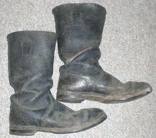 Boots from the bulk rubbish!