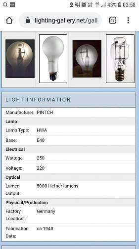 Kriegsmarine light bulb