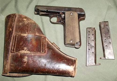 World War 2 German Holster for what Gun?