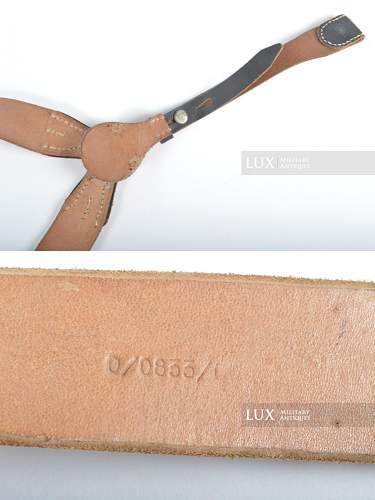 Y Straps from Lux Militaria approval