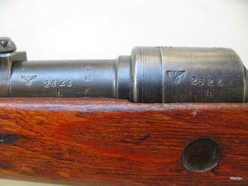 Quick question on Mauser insignia.