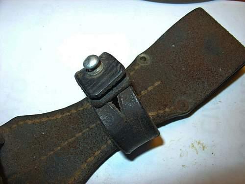 k98 Bayonet Leather Frog