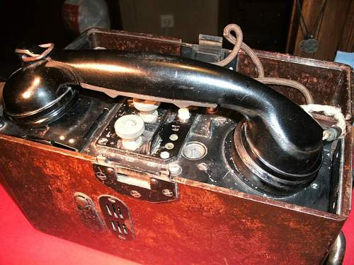 opinions about german field telephone