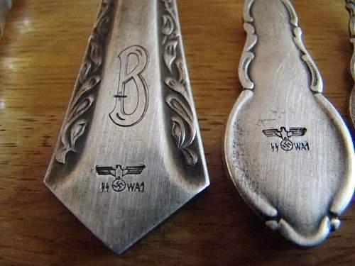 SS-cutlery set (fake or fake?)