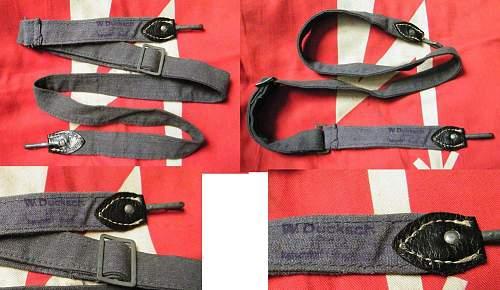 Luftwaffe bread bag strap