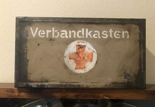 Surplus Verbandkasten Box Restoration