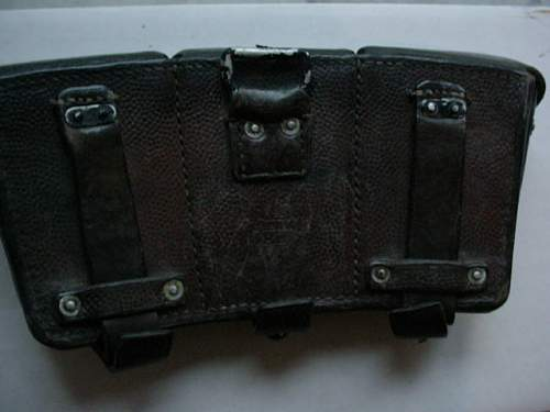 3 K98 ammo pouches,info help needed