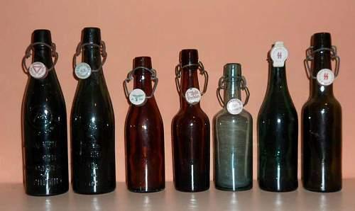 Lot of rare bottles