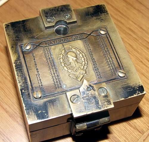 German WWII PANZER Compass?