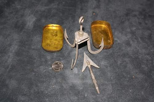 Flea Market find - Grappling hook and Arrow point kit?