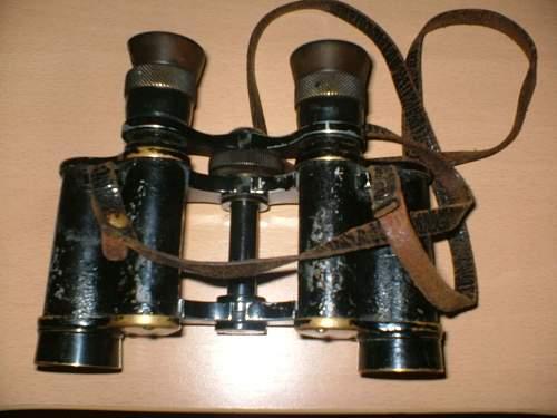 Windspach Wien VI binocular-- WWI or WWII??  military or civil??