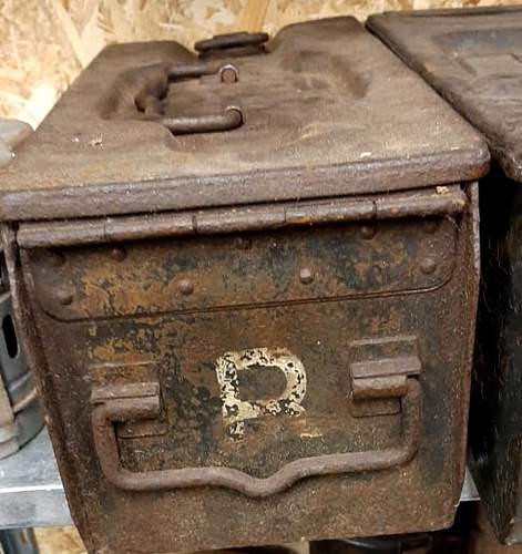 What kind of ammo box?