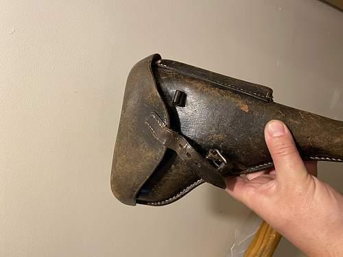 luger holster and belt