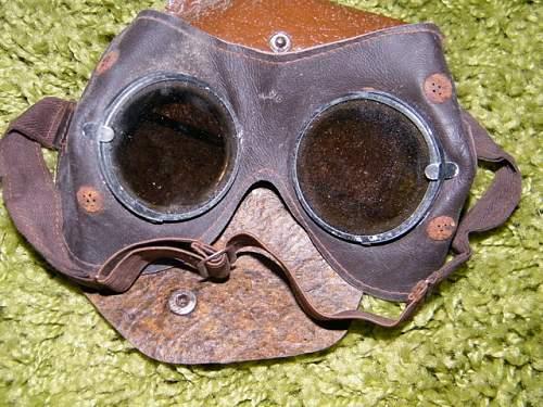 Afrika Korps goggles