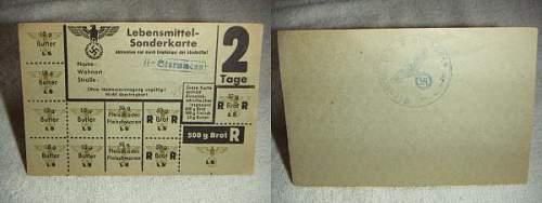Click image for larger version.  Name:Lebensmittel Sonderkarte SS Sturmann.jpg Views:56 Size:25.2 KB ID:166520