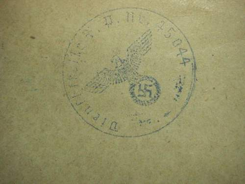 Click image for larger version.  Name:Lebensmittel Sonderkarte SS Sturmann sign with nr 45044 back.jpg Views:43 Size:51.6 KB ID:166521