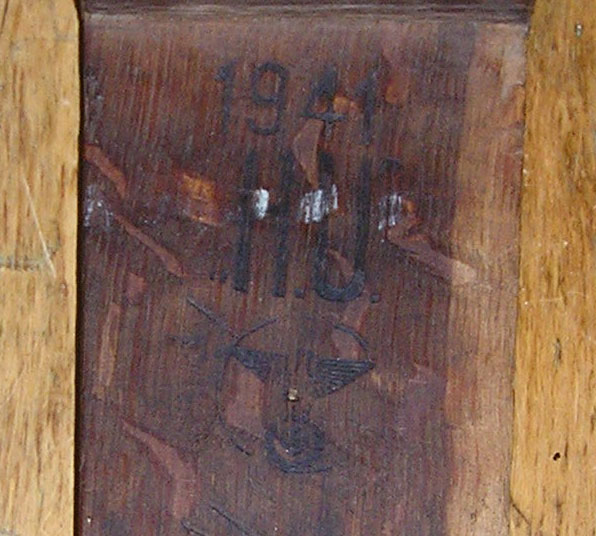 ss stamping on German furnitures