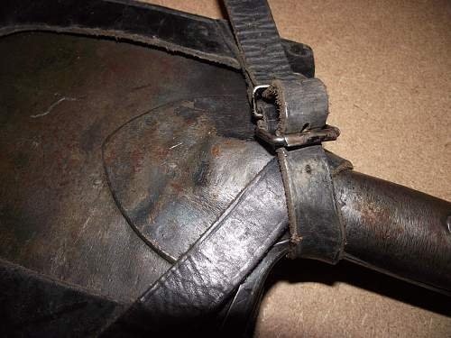 german fixed blade entrenching tool