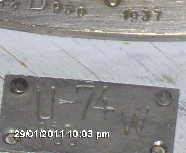 U-Boat dive angle indicator?