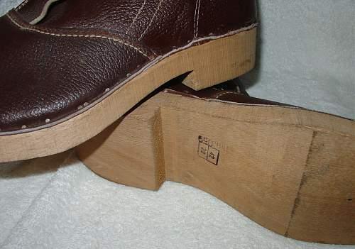 German Latewar boots
