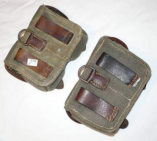Identifying 2 Ammo. Pouches