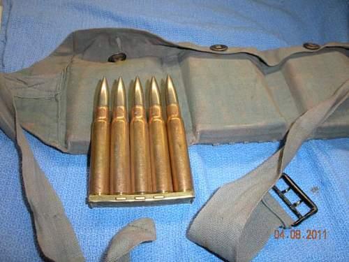 Identify this ammunition/bandolier? 7.92, 1938