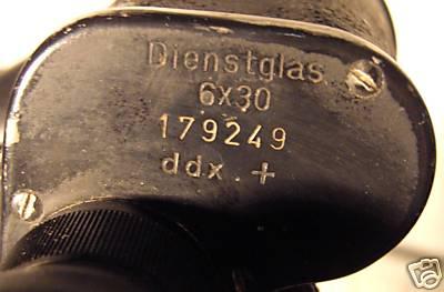 Dienstglas 6x30 ddx+ 1941