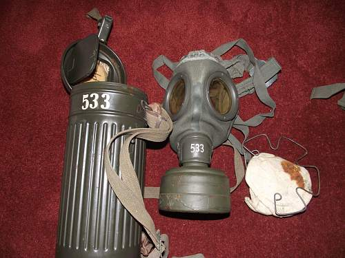 My german gasmask collection