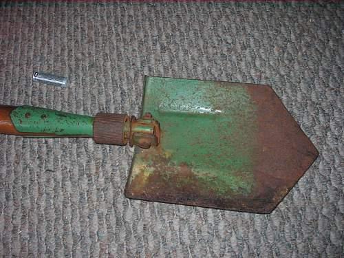 folding shovel