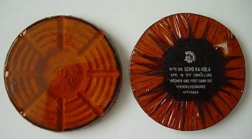 WW2 Red Cross Chocolate - Unopened