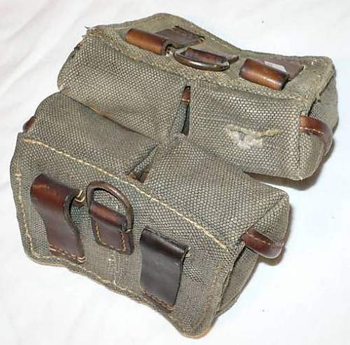 Unidentified Ammo. Pouches