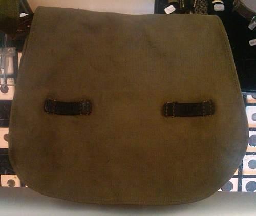 German Breadbag - WWII or Post War??