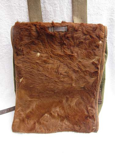 M34 Pony fur backpack