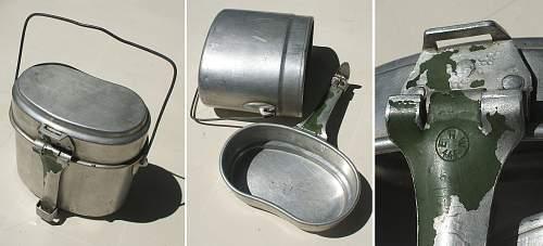 New Items: Mess tin