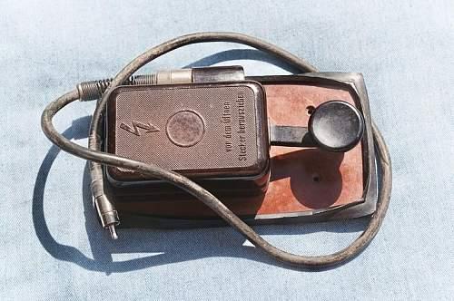 German telegraph key,,,is this third reich make or usage?