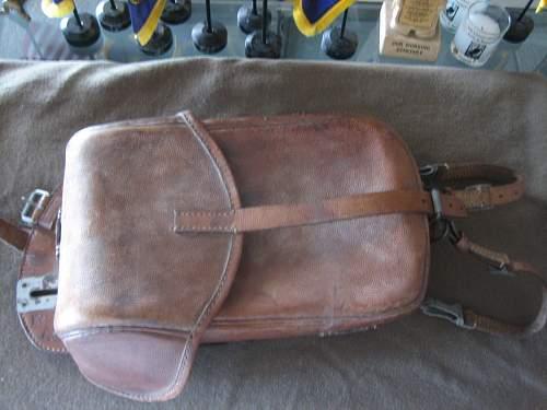 Click image for larger version.  Name:WWII German Saddle Bag (1).jpg Views:557 Size:153.2 KB ID:252236