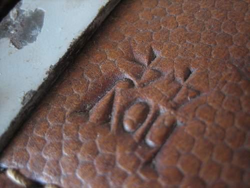 Click image for larger version.  Name:WWII German Saddle Bag (10).jpg Views:123 Size:148.5 KB ID:252237