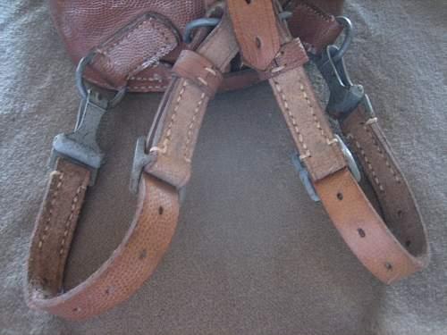Click image for larger version.  Name:WWII German Saddle Bag (13).jpg Views:79 Size:165.7 KB ID:252242