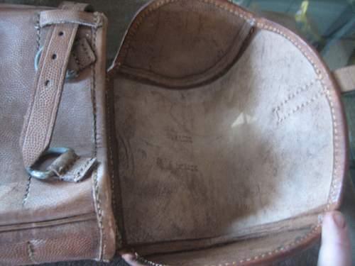 Click image for larger version.  Name:WWII German Saddle Bag (6).jpg Views:151 Size:135.1 KB ID:252243
