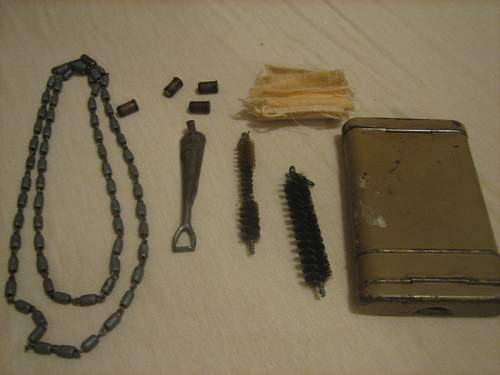 Gun Cleaning Kit...Africa Corps??