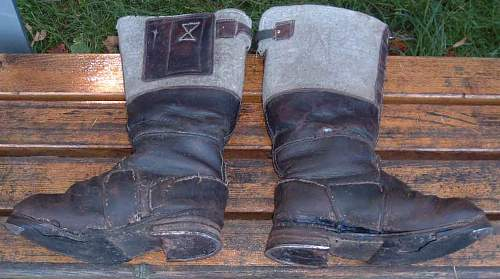 Question - Wehrmacht Winter Boots ?