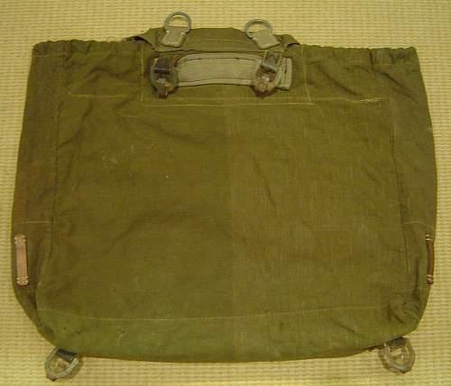A very big backpack