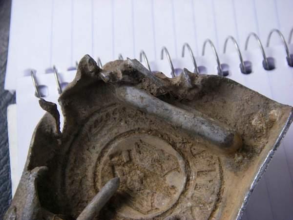 Ground dug items from Stalingrad