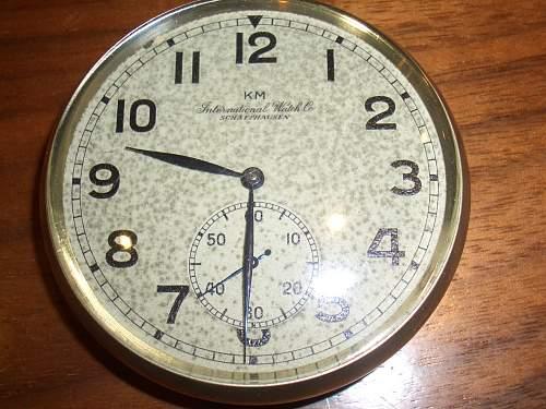Kriegsmarine pocket watch