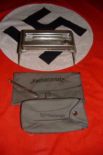 Truppenbesteck 1935, German field surgeons kit