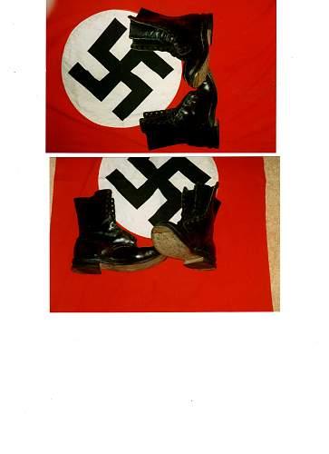 2nd pattern Fallschirmjager boots