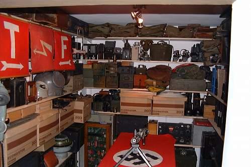 My storeroom a few years ago.
