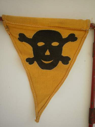 Is this WWII German mine flag?