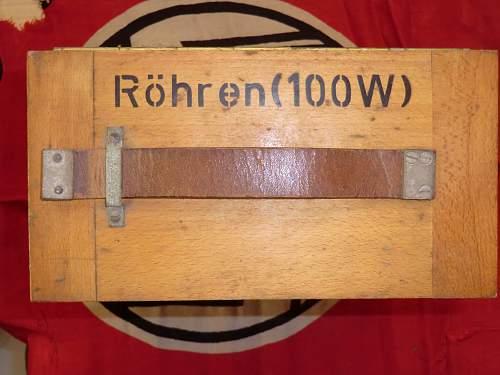 Rohren 100w in the transit case from Jersey, Channel Islands