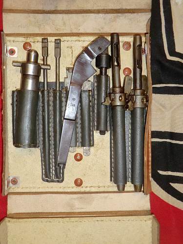 MG.15 gunners pouch used on an aircraft.
